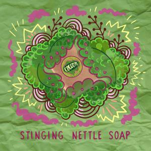 Csalán - Teafa szappan Illusztráció
